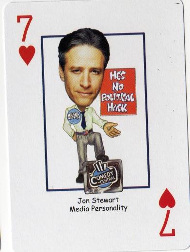Stewart playing card
