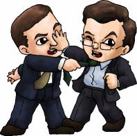 Steve Carell and Stephen Colbert